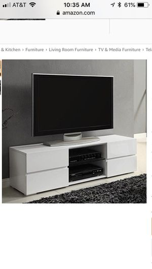 New coaster 4 drawer modern tv console for Sale in Dublin, OH