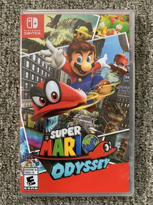 New Super Mario Odyssey for Nintendo Switch for Sale in Lynnwood, WA
