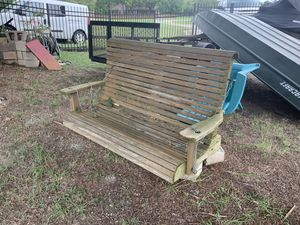 Cedar porch swing for Sale in Rockwall, TX