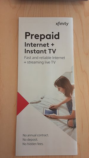 Prepaid Xfinity Internet for Sale in Independence, MO