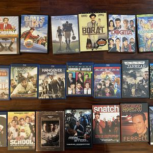 Various Movies For Sale!!! I Will Entertain Offers! for Sale in La Mirada, CA
