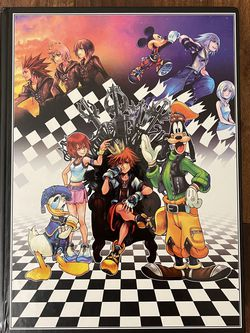 Kingdom Hearts 1.5 Strategy Guide Book Hardcover for Sale in San Diego,  CA
