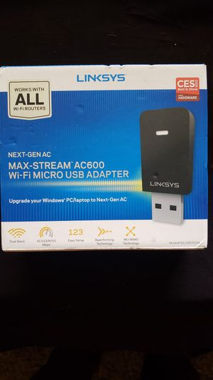 Linksys Next-Gen Ac Max-Stream Ac600 for Sale in Stone Mountain, GA