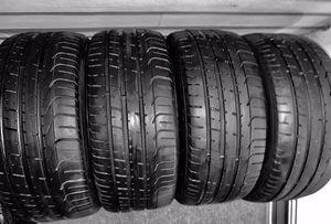 Four (4) Pirelli PZero 255/35R20 97Y Performance Tires for Sale in Reston, VA