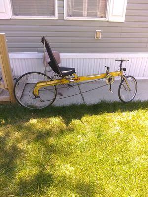 Linear LWB folding Limo recumbent bike for Sale in Novi, MI