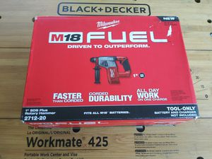 Milwaukee M18 FUEL 18-Volt Lithium-Ion Brushless Cordless 1 in. SDS-Plus Rotary Hammer (Tool-Only) for Sale in Morrow, GA