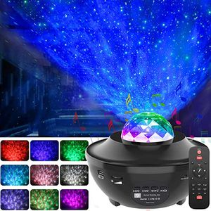 GeMoor Star Projector Night Light Projector Ocean Wave Projector Night Light Projector with Bluetooth Music Speaker for Baby Kids Bedroom/Game Rooms/ for Sale in Cary, NC