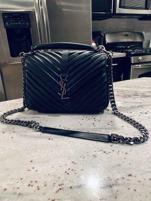 YSL . Black leather shoulder bag for Sale in Las Vegas, NV