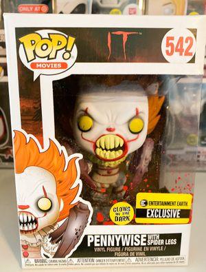 Funko Pop GITD Pennywise w Spider Legs EE Exclusive for Sale in Orange, CA