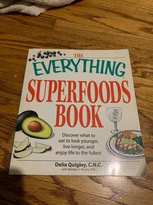 The everything superfoods book for Sale in Inglewood, CA