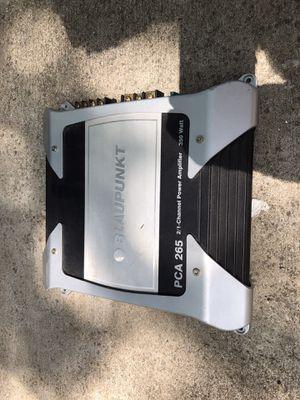 Blaupunkt car audio amplifier for Sale in Austin, TX