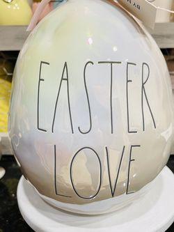 Rae Dunn Iridescent Egg Easter Love for Sale in Houston,  TX