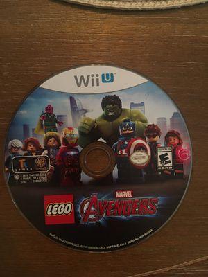 Nintendo Wii U LEGO avengers for Sale in VISALIA, CA