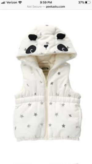 New with tags Gymboree starry night collection baby puffer vest size 6-12 months for Sale in Mill Creek, WA
