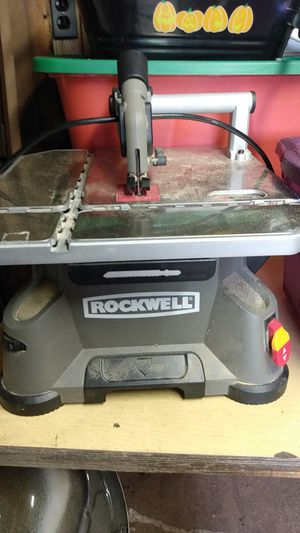 Rockwell portable table saw for Sale in Sterling Heights, MI