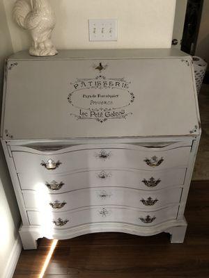 Vintage secretary desk w/ drawers all mahogany for Sale in Henderson, NV