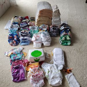 Massive cloth diaper stash for Sale in Gaithersburg, MD