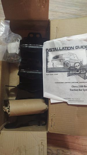 BDS Recoil rear traction bar mounting kit for Sale in Dade City, FL
