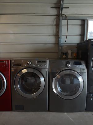 Stainless LG washer & dryer for Sale in Del Valle, TX