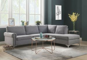 Grey sofa sectional couch for Sale in Downey, CA