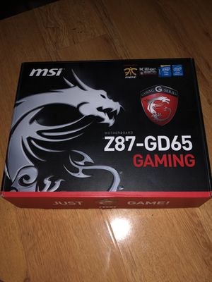 MSI Gaming Motherboard for Sale in Riverside, CA