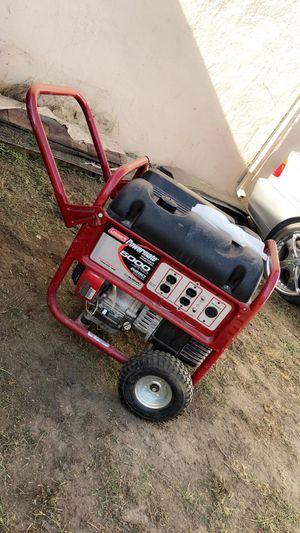 Coleman generator 5000 watts but maximum is 6250 for Sale in Watsonville, CA
