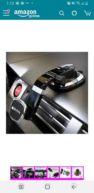 Cell Phone Holder for Car Dashboard | Magnetic Phone Car Mount | Magnet Car Phone Holder Compatible with iPhone 11Pro Xr Xs XS MAX X 8 8Plus 7 for Sale in Elkridge, MD