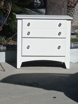 Two Drawer Nightstand Or Side Table for Sale in Brea,  CA