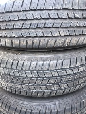 Michelin new tires and wheels 245/75/16LT for Sale in Auburn, WA