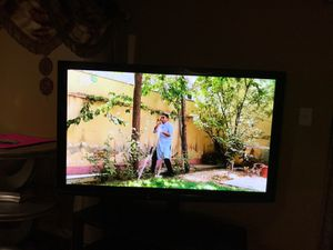 Panasonic plasma HDTV 65 inch with tv stand for Sale in Manchester, MO