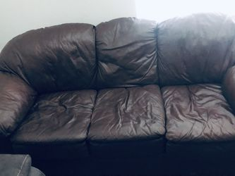 Brown Leather couches for Sale in Magnolia,  TX