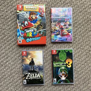 Nintendo switch game cases only! for Sale in Chesapeake, VA