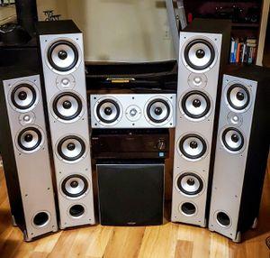 Polk audio surround sound with subwoofer for Sale in Redmond, WA