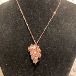 Fashion Pendant/brooch Combo- Nice Quality, Nature Inspired Item- W/matching Chain- Like New- #artssoflo for Sale in Miami,  FL