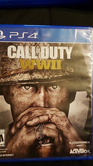 Cod ww2 for ps4 for Sale in Richmond, VA