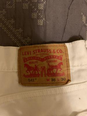 Levi's 541's all white for Sale in Dallas, TX