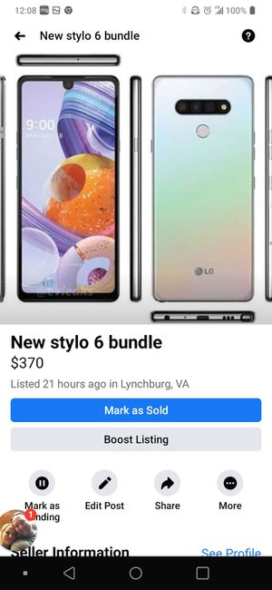Stylo6 cell phone bundle for Sale in Amherst, VA
