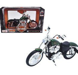 Maisto 1:12 Harley Davidson 2013 XL 1200V Seventy Two Motorcycle Toy New in Box for Sale in Boca Raton,  FL