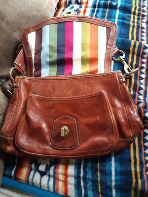 Coach Vachetta Legacy Leather Handbag / shoulder purse for Sale in Boston, MA