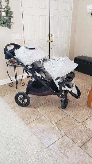 Baby Jogger City Select Double Stroller for Sale in Menifee, CA