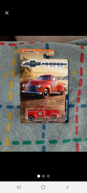 Matchbox 100yrs '47 Chevy AD 3100 ●□● for Sale in Williamsport, PA