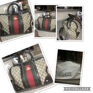 Authentic Gucci medium Boston bag for Sale in Rex, GA