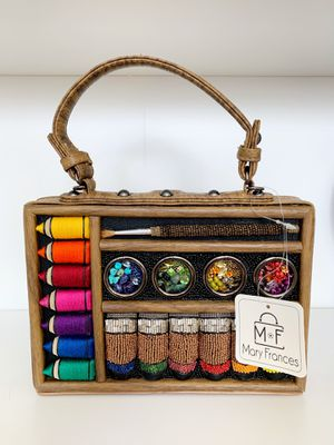 Mary Frances Art and Soul Handbag, Clutch, Crossbody, Evening Bag for Sale in Corona, CA
