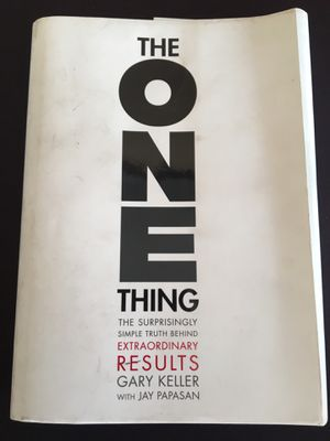 "Gary Keller ""the one thing"" book for Sale in Chula Vista, CA"