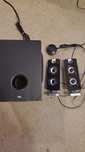 Computer stereo system with sub for Sale in Mesa, AZ