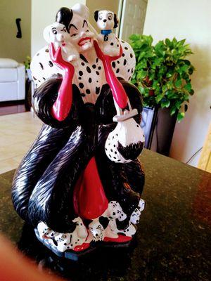 """Disney Dalmatians """"Cruella' by DeVille Treasure for Sale in Lakeland, FL"""
