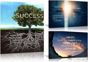 (FREE SHIPPING) Brand New Motivational Canvas Inspirational Entrepreneur Success Tree Wall Art for Sale in Lansing, MI
