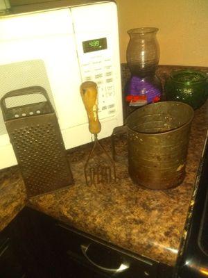 Antique kitchen supplies for decor for Sale in Crestview, FL