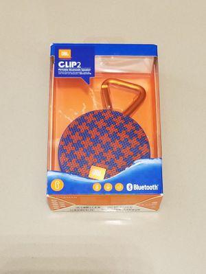 JBL Clip 2 Waterproof Ultra-portable Bluetooth Speaker for Sale in Santa Clara, CA
