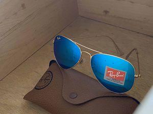 Brand New Authentic RayBan Aviator Sunglasses for Sale in San Bernardino, CA